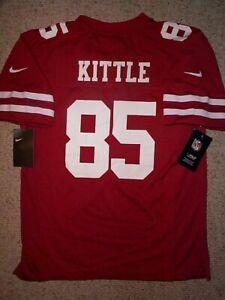 *IRREGULAR* 49ers GEORGE KITTLE nfl NIKE Jersey Youth Kids Boys (L-LG-LARGE)