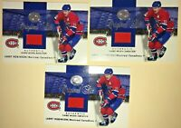 (3) LARRY ROBINSON 2001-02 GREATS OF THE GAME JERSEY CARD ORIGINAL SIX Canadiens