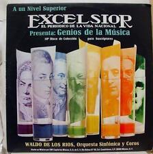 Waldo De Los Rios - Genios De La Musica Volumen 10 LP Mint- Mexico LPE 119 Vinyl
