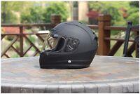 AMZ 901F Flat Black Full Face Speeding Street Bike Motorcycle Helmet DOT