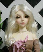 "DOLL Wig, Monique Gold ""Ciara"" Size 5/6, White Blonde"