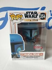 Star Wars The Mandalorian Death Watch Two Stripes #354 Special Edition Funko Pop