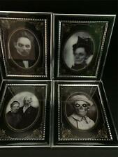 Paranormal HOLOGRAMS 4 Framed Scary Halloween HAUNTED RELATIVES Party Decor
