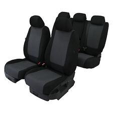 Sattler Maß Sitzbezüge Schonbezüge Autositzbezüge Schwarz Passgenau für Ford