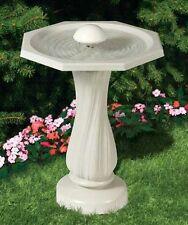 Allied Precision Water Rippling Bath Backyard Garden Decor For Songbird Lovers!