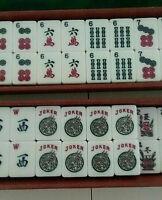 Vintage Esthetic Mah Jongg Set 152 Tiles *