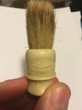 Vintage Gillette Travel Shaving Brush Rubberset