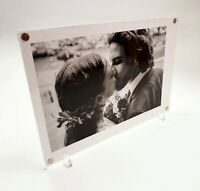 4x6 5x7 6x8 8x10 8x12 clear perspex magnetic picture photo frame display POS