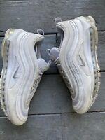 Nike Air Max 97 men's shoes, Triple White (921826-101) size 10