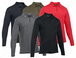 UA Tactical Performance Polo - Under Armour Men's Long Sleeve Tactical Shirt