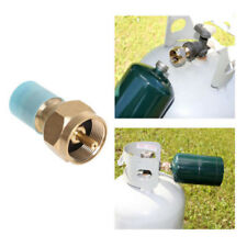 Lp Gas 1 Lb Brass Tank Coupler Safety Propane Refill Adapter HOT