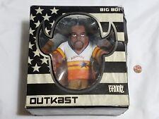 NEW (w/ Box Wear) Outkast Big Boi Action Figure by Gruntz SEALED big boy outcast