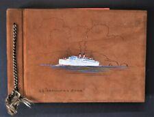 Blue Star Line T.S.S. Arandora Star Portrait Photo Album Norway Cruise 1934
