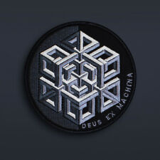 Deus Ex Machina, Impossible Geometry, Isometric, Embroidery patch, size (d):10cm