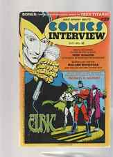Comics Interview Magazine # 29, 1985, Teem Titans, Wamp Thing Vs. Mr. Monster?