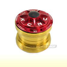 "KCNC Radiant KR3 1-1/8"" Sealed Bearing External Threadless Headset, Red"