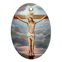 JESUS CHRIST CRUCIFIXION CHRISTMAS ORNAMENT GREAT GIFT!