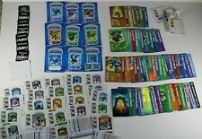 Collection of Skylanders Cards Stickers & Codes Giants Trap Team Spyro's SWAP