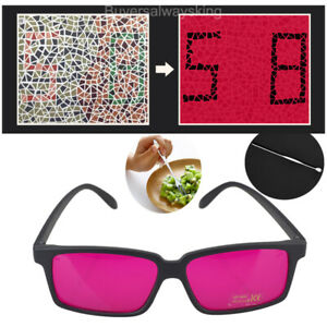 Square Frame Corrective Color Blind Glasses Red Green Colorblindness Outdoor