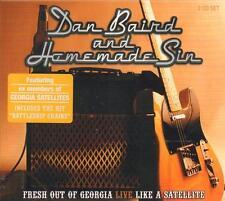 Dan Baird & Homemade Sin(2CD Album)Fresh Out Of Georgia Live-CRIDE 82-New