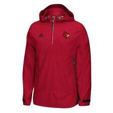 Louisville Cardinals NCAA Adidas Red Modern Varsity Anorak 2.0 Woven Jacket