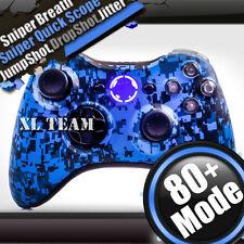 COD ADVANCED WARFARE BLUE CAMO XBOX 360 RAPID FIRE MODDED CONTROLLER BLACK OPS 3