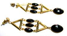 Unbranded Butterfly Fastening Acrylic Oval Costume Earrings