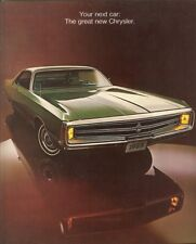 1969 Chrysler New Yorker 300 Newport Newport Custom Town & Country Brochure