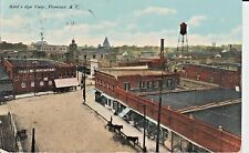 1911 A Bird's Eye View of Florence, SC South Carolina PC