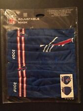 Buffalo Bills Licensed 2 Pack Adult Face Mask Covering - 50% Off Srp- Free S&H!