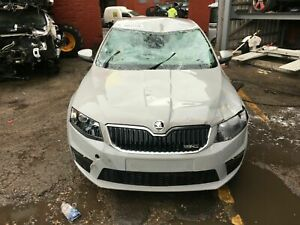 2017 SKODA OCTAVIA VRS 2.0 COMPLETE FRONT BUMPER WITH FRONT PANEL COLOUR  F7A
