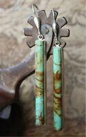 Romania 925 Silver Turquoise Ear Hook   Jewelry Dangle Anniversary Drop Earrings