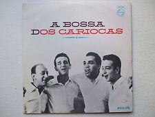 OS CARIOCAS - A BOSSA DOS.. LP 1st MONO 1963 BRAZIL TOM JOBIM VINICIUS MPB SAMBA