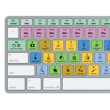 Adobe Photoshop Keyboard Stickers | Mac | QWERTY UK, US