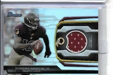 ROBERT GRIFFIN III 2013 BOWMAN FOOTBALL RELIC GAME USED JERSEY