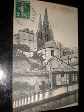Old printed postcard saint-lo normandy  France c1919