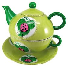 """Wunderschön: Tea for One """"Ladybird"""", 3-teiliges Set der Marke Prettea"""