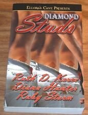 Reduced ELLORA'S CAVE PRESENTS Diamond Studs*FINE*Diana Hunter+Ruby Storm PB TPB
