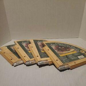 """Corner Shelves - Lot of 4 JamesTowne WoodWorks Designer Corner Shelf 10"""" x 10"""""""