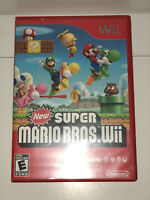 Nintendo Wii New Super Mario Bros. Wii Game in Case