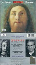 Handel. Messiah / Les Musiciens du Louvre, Minkowski Marc (2001) 2CD NUOVO SIGIL