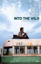 INTO THE WILD Movie Promo POSTER Emile Hirsch Vince Vaughn Marcia Gay Harden