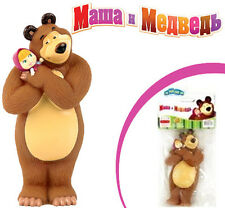 low start! Rubber Toy ORIGINAL Masha and the Bear 14 cm