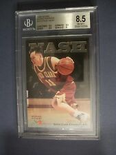 STEVE NASH 1996 Score Board Rookies #18 BGS NM-MT+ 8.5 RC Suns