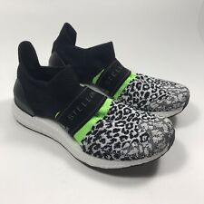 ADIDAS ULTRABOOST X STELLA MCCARTNEY BLACK/WHITE G28336 WOMEN'S SIZE 9