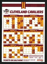 Cleveland Cavaliers--2013-14 Magnet Schedule