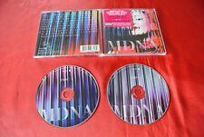 Madonna MDNA Import Canada Promo Hype Sticker Deluxe 2 Discs CD Set
