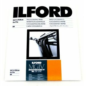 Ilford MGIV 5x7 Satin - 25 Pack - BRAND NEW