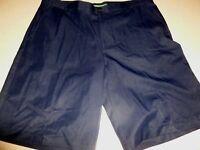 IZOD Golf Men's Shorts Straight Fit Navy Blue sz 36