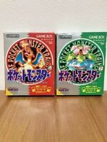 NINTENDO Pokemon Red & Green (Game Boy GB) Japanese Version